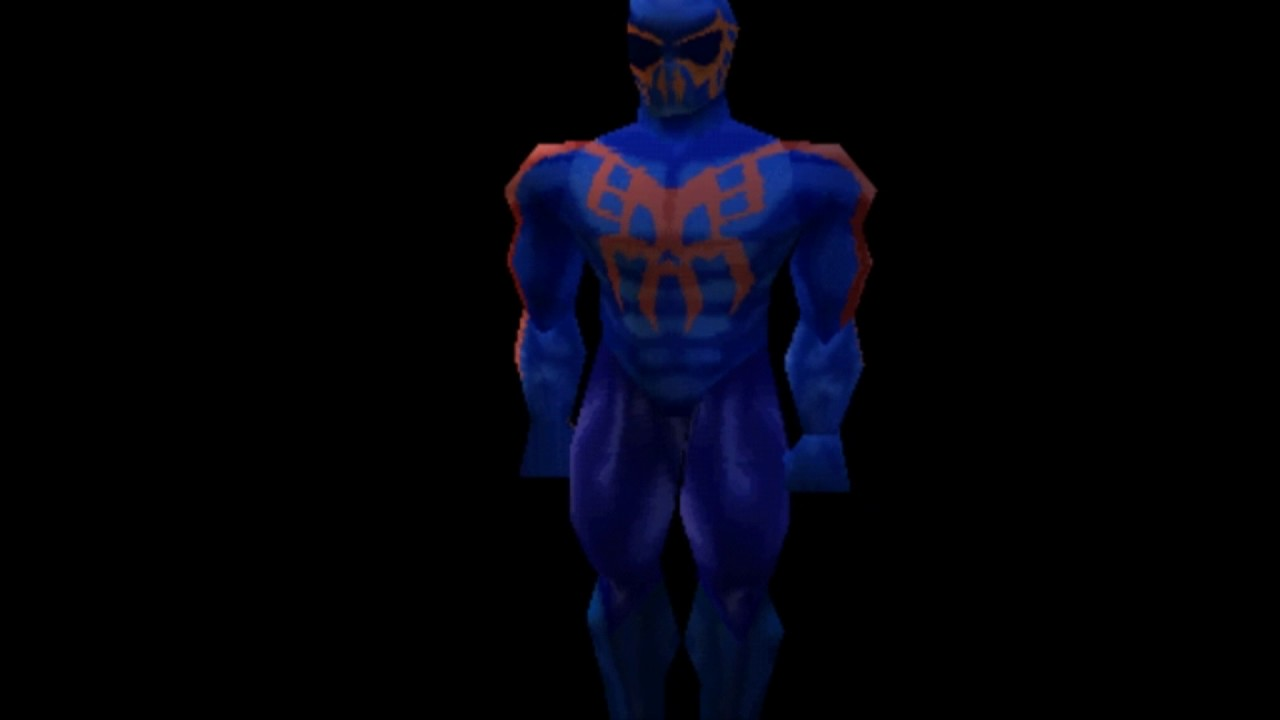 Spider-Man 2000 Custom Model Viewer made with game engine