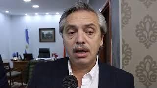 CONTUNDENTE RESPALDO DE ALBERTO FERNANDEZ A GUSTAVO MELELLA