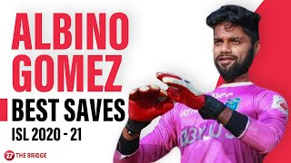 Best saves by Kerala Blasters' Albino Gomez in ISL 2020-21 | The Bridge