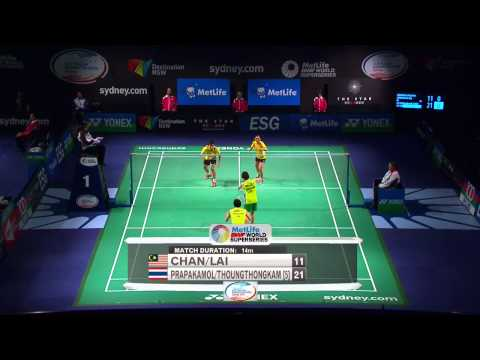 2014 THE STAR AUSTRALIA BADMINTON OPEN-QF-XD: Chan/Lai (MAS)