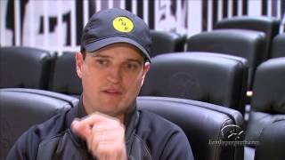 iowa native zach johnson speaks to iowa football team