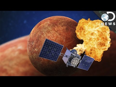 Why Did NASA Crash A Satellite Into Mercury?