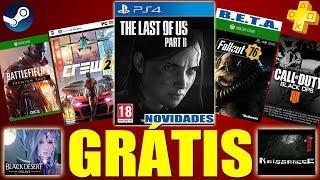 JOGOS GRÁTIS CORREEE!!! Novidades THE LAST OF US PARTE 2, Novo HQ do Call of Duty e MAIS!!!