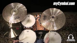 """Paiste 21"""" Twenty Masters Dark Dry Ride Cymbal (5501721-1042214X)"""