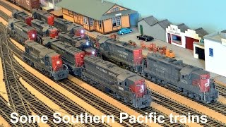 Some Southern Pacific trains