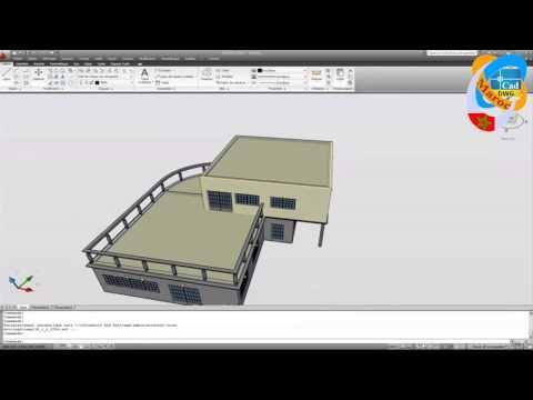 Un Plan De Maison Avec Autocad Hd