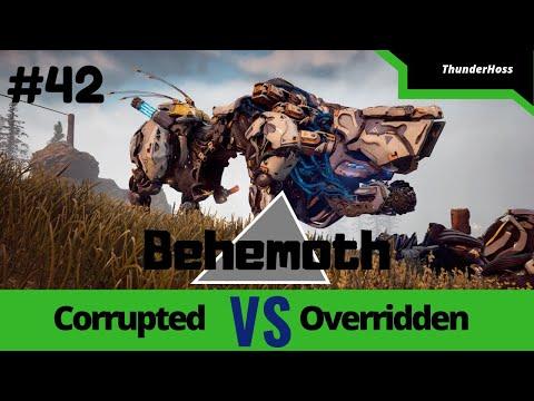 Horizon Zero Dawn - Corrupted Behemoth VS Overridden Behemoth (Horizon Fight Club #42)