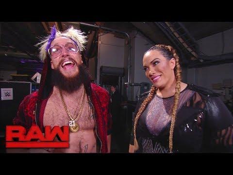 Nia Jax slides into Enzo Amore's DMs: Raw, Dec. 18, 2017