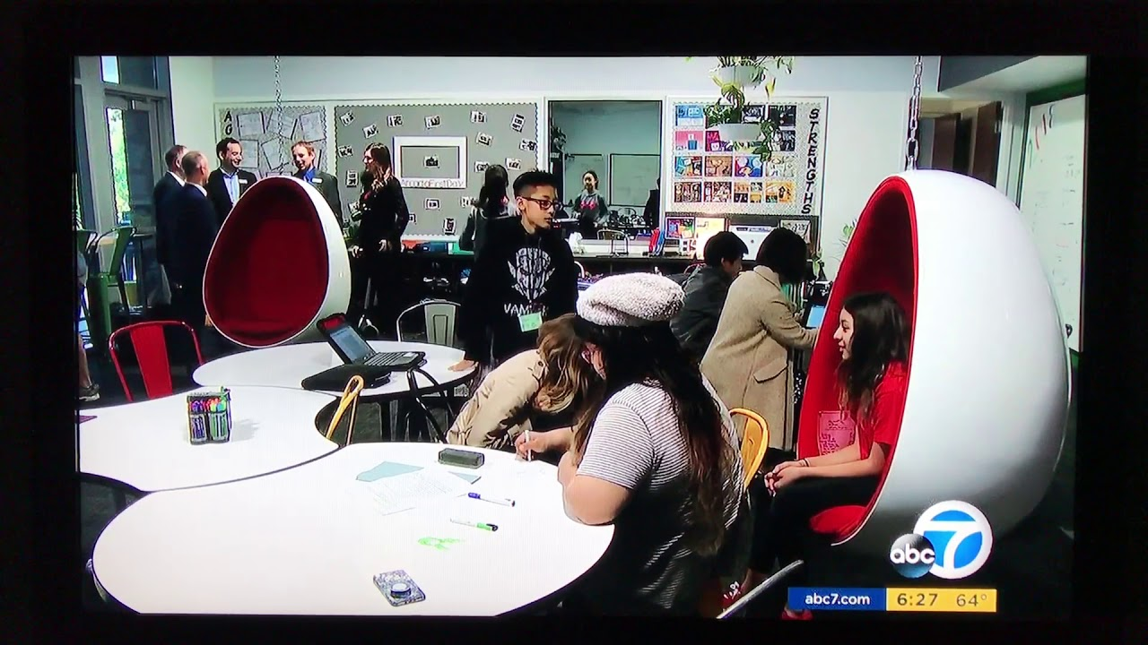 ABC7 News Arcadia Unified Personalized Learning Lab School AltSchool