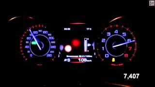 Jaguar XE Acceleration 0-100 km/h (Measured by Racelogic)