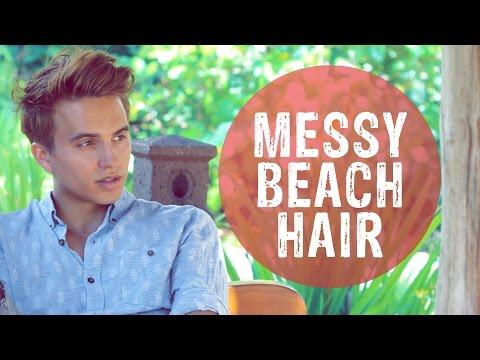 MEN'S HAIR STYLE | Big, Sexy, Messy Hair | Dre Drexler