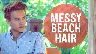 MEN'S HAIR STYLE   Big, Sexy, Messy Hair   Dre Drexler
