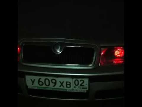RightLight.ru - Skoda Octavia Tour - Установка биксеноновых линз с RGB подсветкой