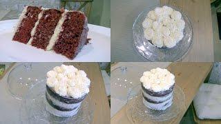Голый торт Красный бархат Red Velvet (не рецепт)