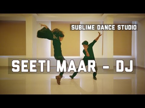 Seetimaar Dance Cover || Allu Arjun II DJ II Sublime Dance Studio