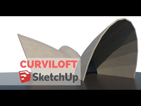 Curviloft - Plugin para Sketchup