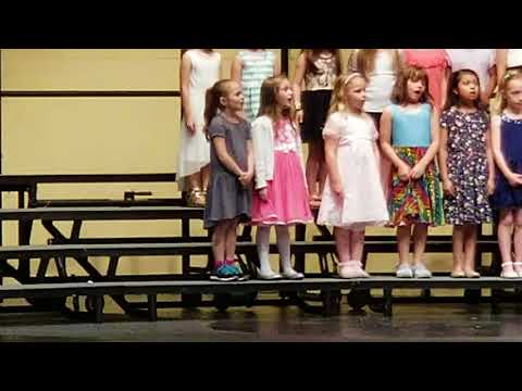 Botsford elementary school spring concert 2018