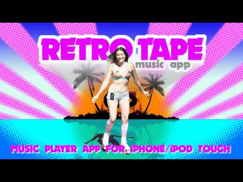 Retro Tape Cassette Music Player for iPhone/iPod Touch