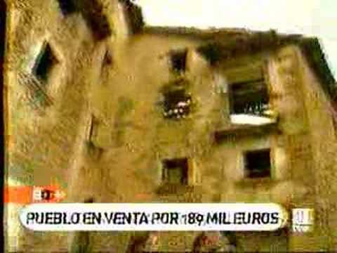 Espa a directo lacasta pueblo abandonado en venta youtube - Casas gratis en pueblos de espana ...