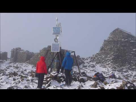 Ben Nevis Summit NCAS Weather Station Project!