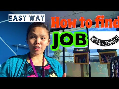 How To Find Job In New Zealand : Easy Way To Find Job In NZ: No NZ Experience: Tagalog Pinoy
