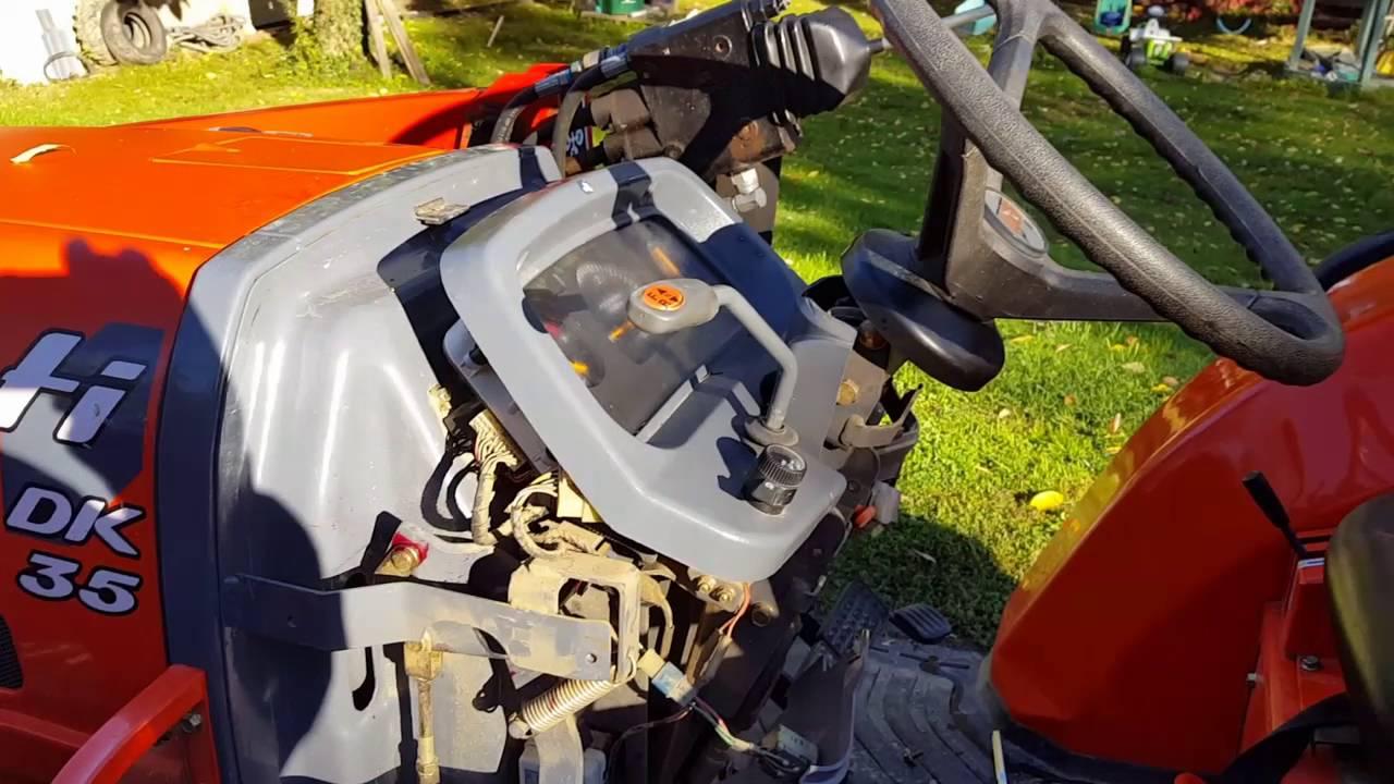 Replacing Kioti Dk35 45 Timer Relay