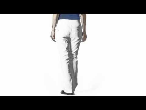LLM07-กางเกงทำงานคนท้องสีขาว Liz lange maternity