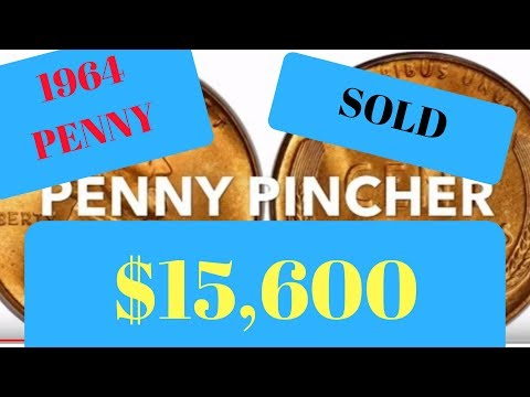 Repeat 1964 PENNY SMS SP67 SOLD 2019 SOLD $15,600 by Penny