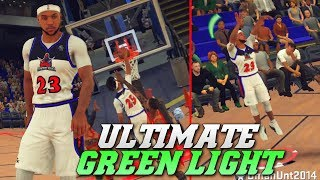 Ultimate Green Light Jumper Catches Fire - Double Dribble Glitch - NBA 2K18 Pro Am Gameplay