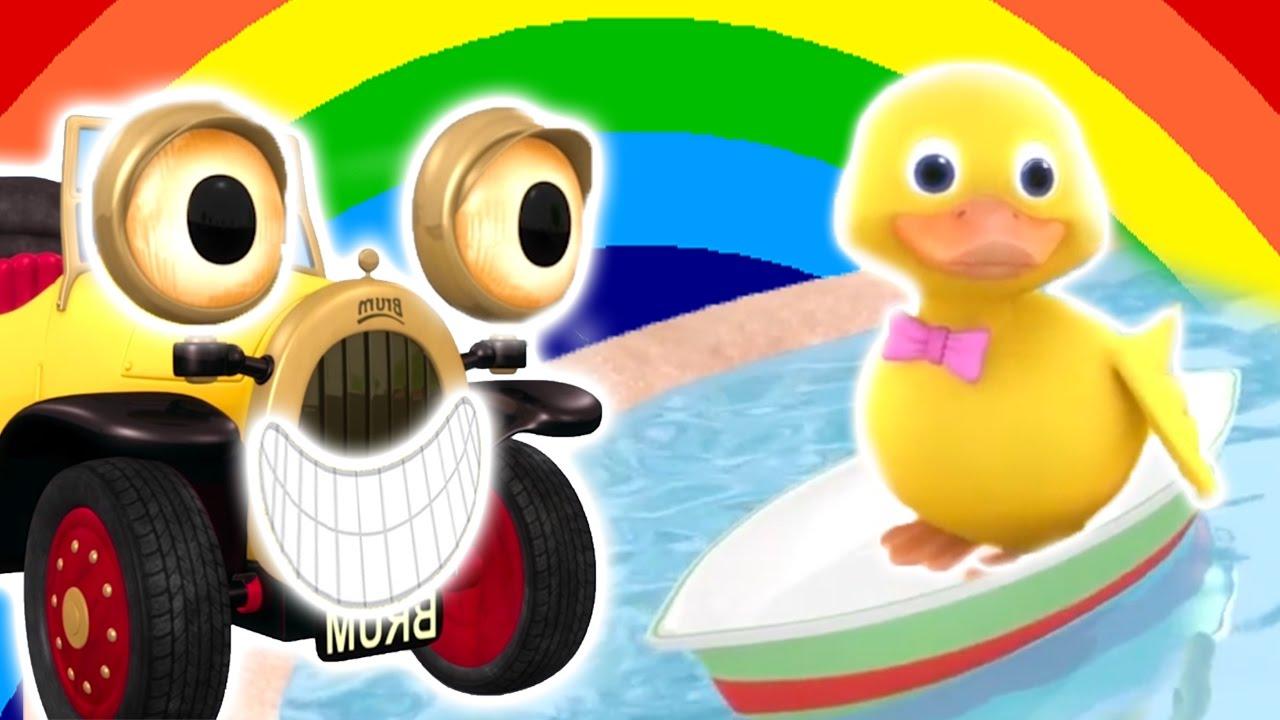 ★ Brum ★ Niespodzianka dla Quack'a   ODCINKI 8 - CAŁE ODCINKI! - HD