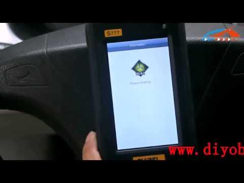 How to Use Tuirel S777 Auto Diagnostic Appareil