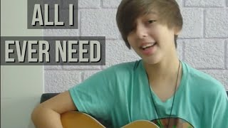 Austin Mahone - All I Ever Need (Benja Depa Cover) Acoustic - 15 yr old