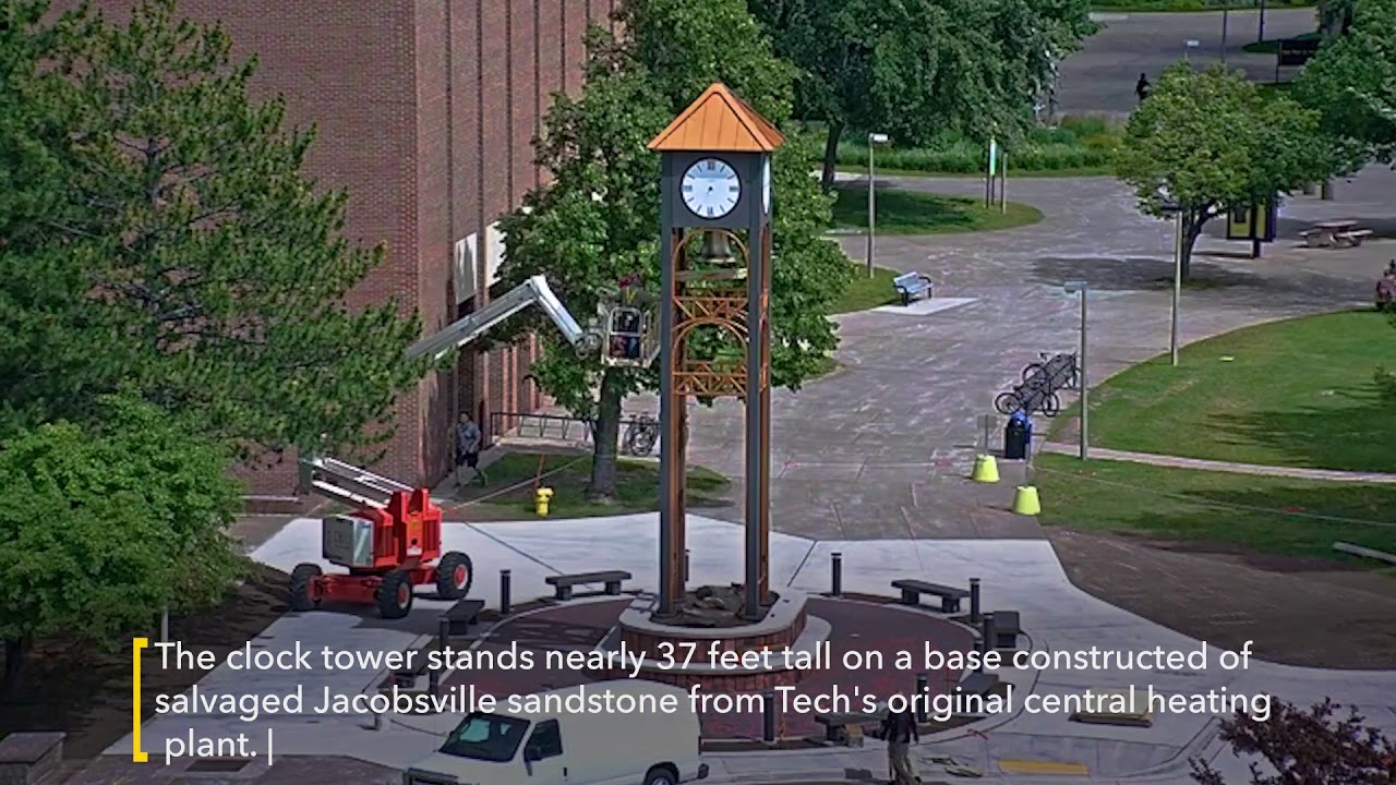 Preview image for Bernard Family Clock Tower Construction and Dedication video