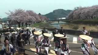 古川祭り「神興巡行」