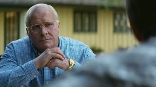 Christian Bale as Dick Cheney: Vice -