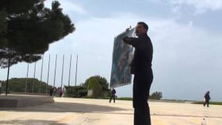 ANZAC Tour 03 - Gallipoli Campaign Overview at Gaba Tepe