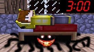 SAAT GECE 3:00'DE KORKUNÇ CANAVAR BENİ İZLİYOR! - Minecraft