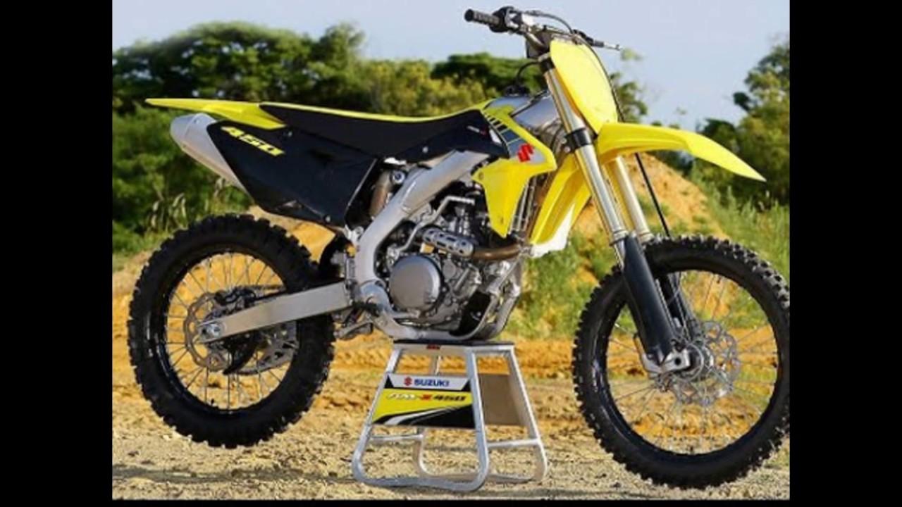 New 2017 Suzuki Rmz 450 X 2018 Dirt Bikes Youtube