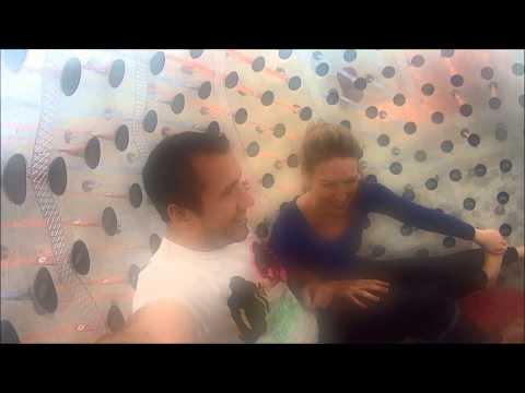 Zorbing 2013 - Chris & Becky