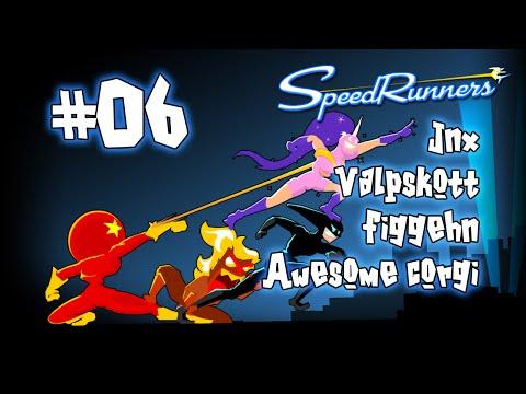Speed Runners med Jnx, Valpskott, Figgehn & Awesome Corgi