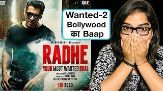 Radhe Teaser REVIEW | Deeksha Sharma