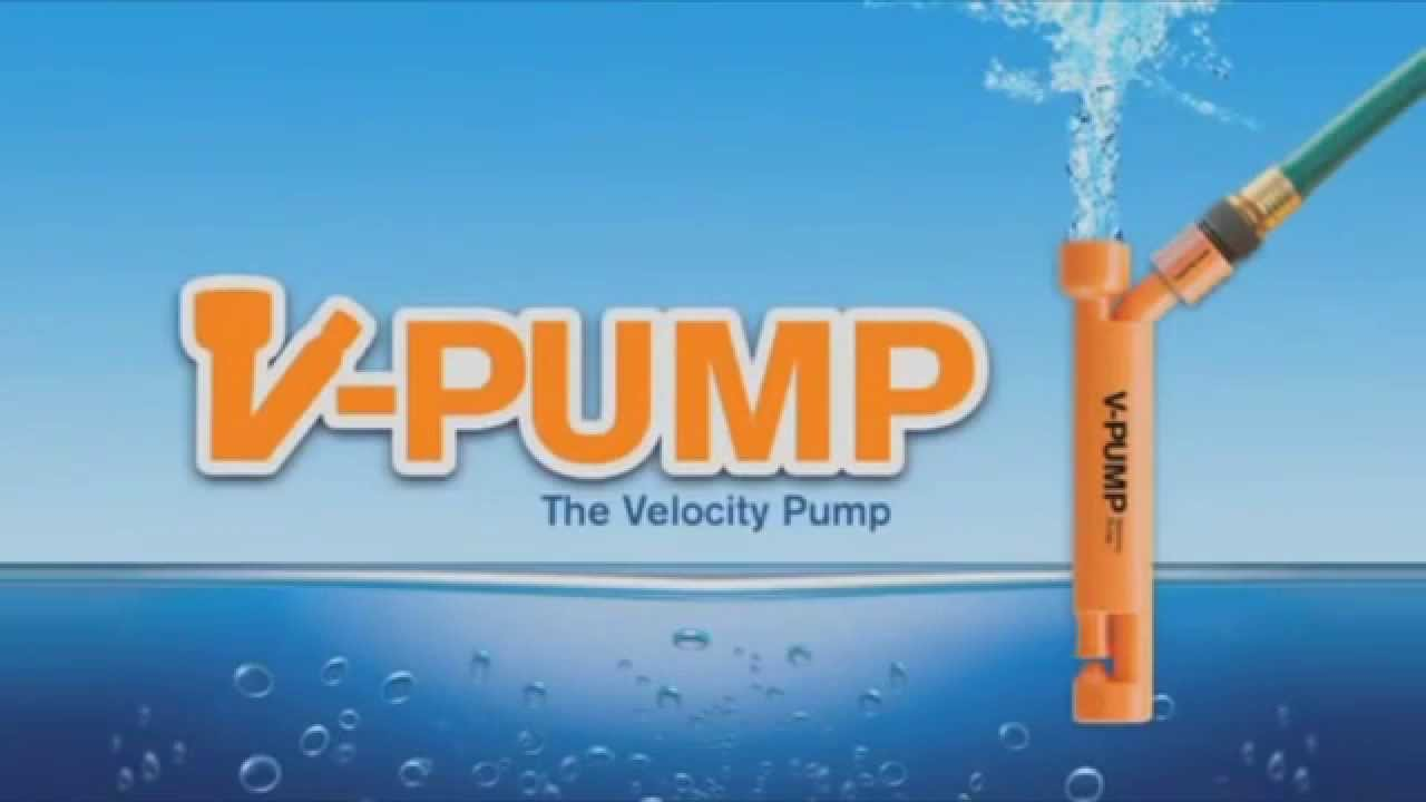 High Velocity Water Pump. No Electricity
