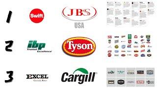 미국 3대 육류회사 & 메이져 브랜드(이것만 알…