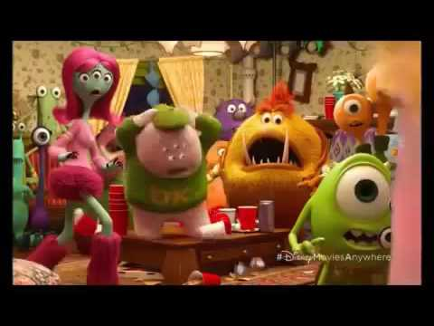 Monster Inc party short clip