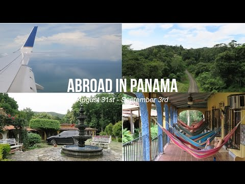 ABROAD IN PANAMA // Week 1