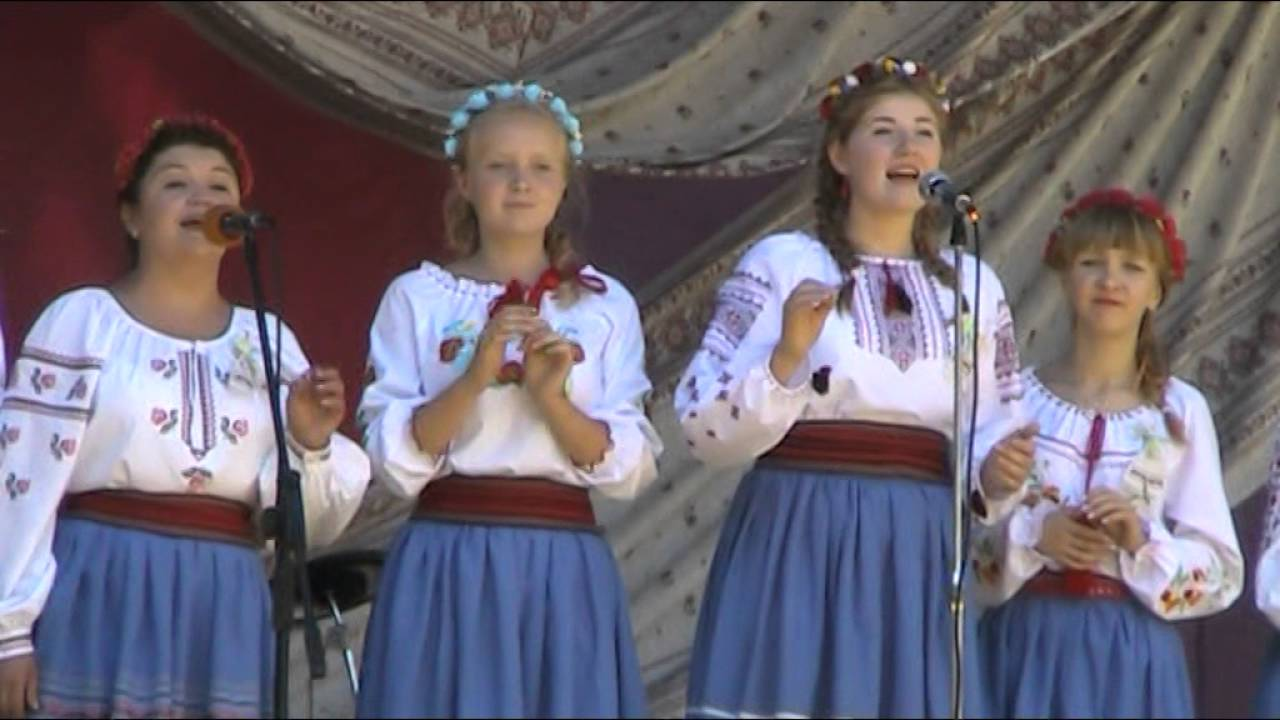Посіяла огірочки - Фольклорний ансамбль