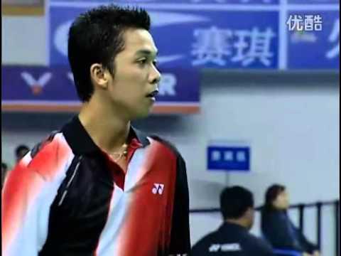 2006 Badminton World Cup MS Group - Taufik Hidayat [IND] Vs Chen Hong [CHN]