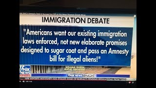 ALIPAC Slams Succeed Act Amnesty Bill for illegals on Fox News Shannon Bream Show
