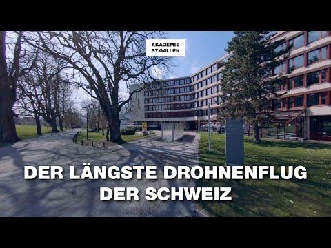 Der längste Drohnenflug der Schweiz