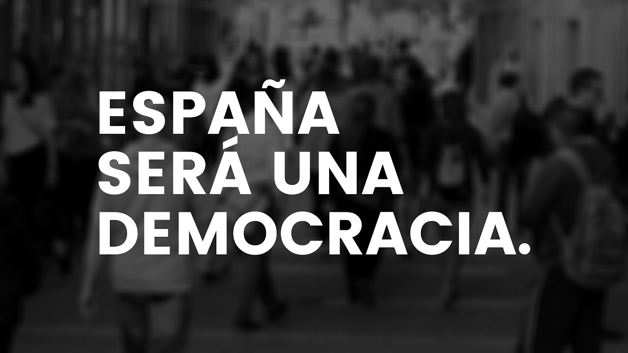 EMPIEZA LA LUCHA POR LA LIBERTAD POLITICA EN ESPAÑA